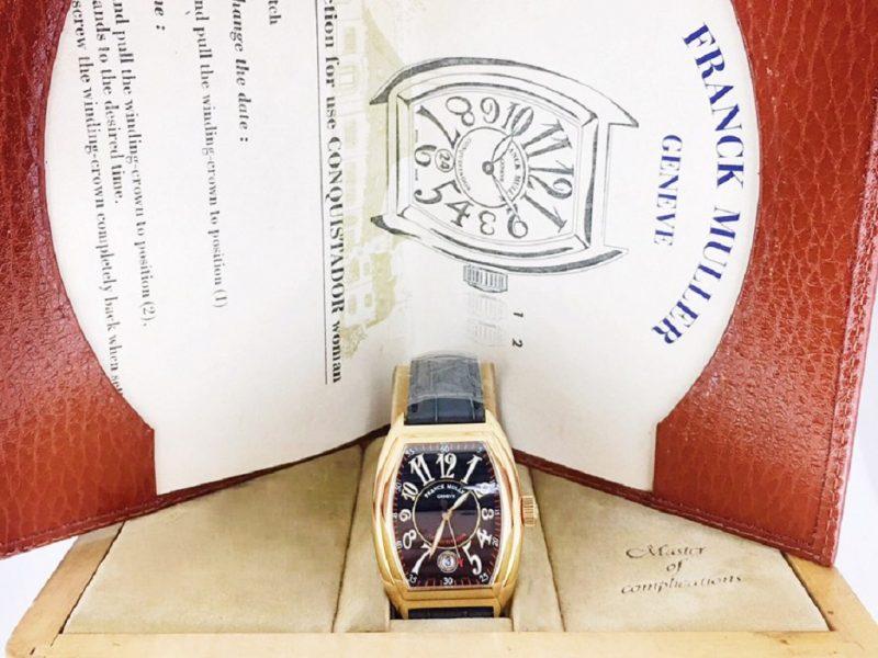 法蘭克米勒 CONQUISTADOR系列 8005 sc 碗錶