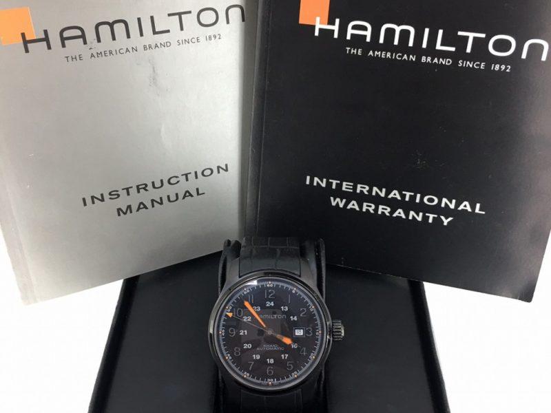 KHAKI FIELD 漢米爾頓 男士自動錶