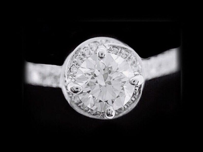 天然鑽石戒指 質感鑲鑽造型女戒
