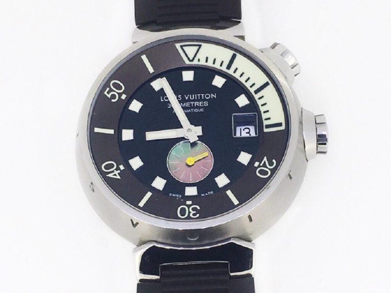 Louis Vuitton 路易威登 LV Tambour Diving Q1031 自動潛水錶