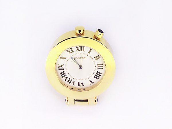卡地亞2753 Travel Alarm Clock -金